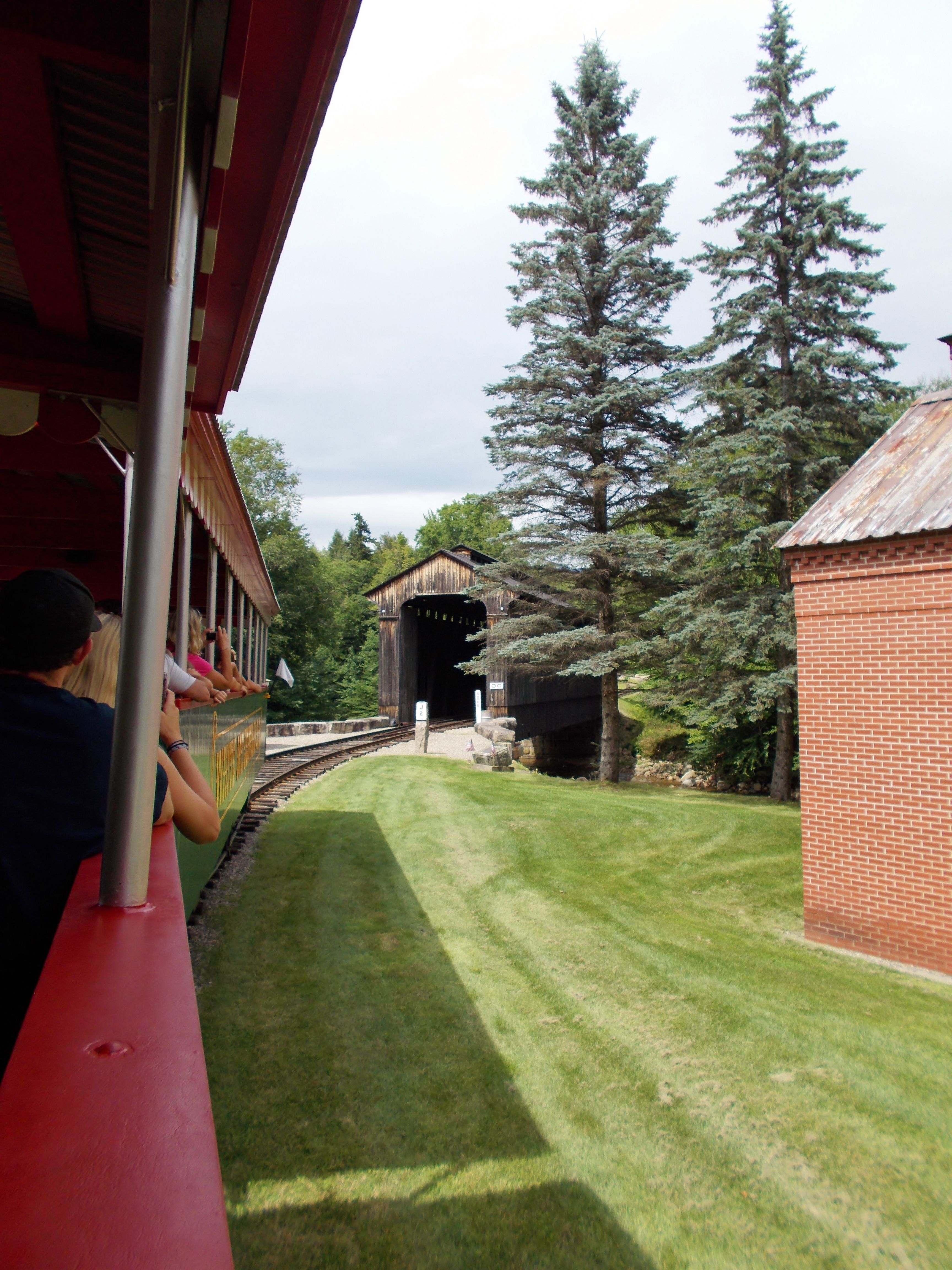 train ride at clark u0027s trading post lincoln nh august 2013 new