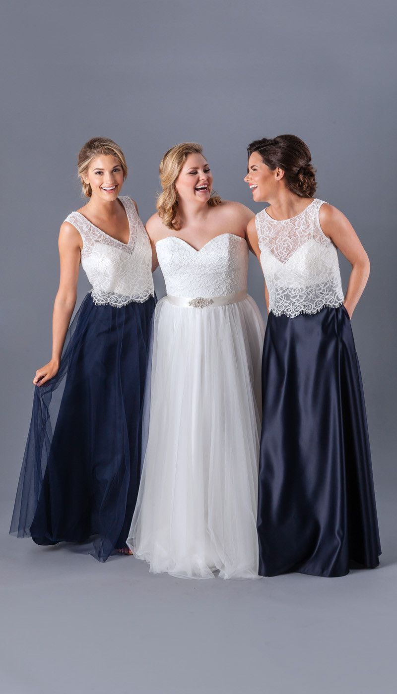 Two piece bridesmaid dresses will pair perfectly with any bridal two piece bridesmaid dresses will pair perfectly with any bridal gown ombrellifo Gallery