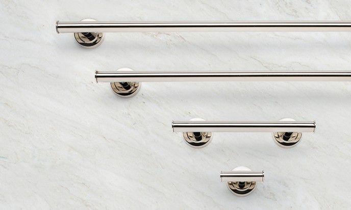 Taymor Lux Towel Bar In Polished Nickel Finish Taymordesign
