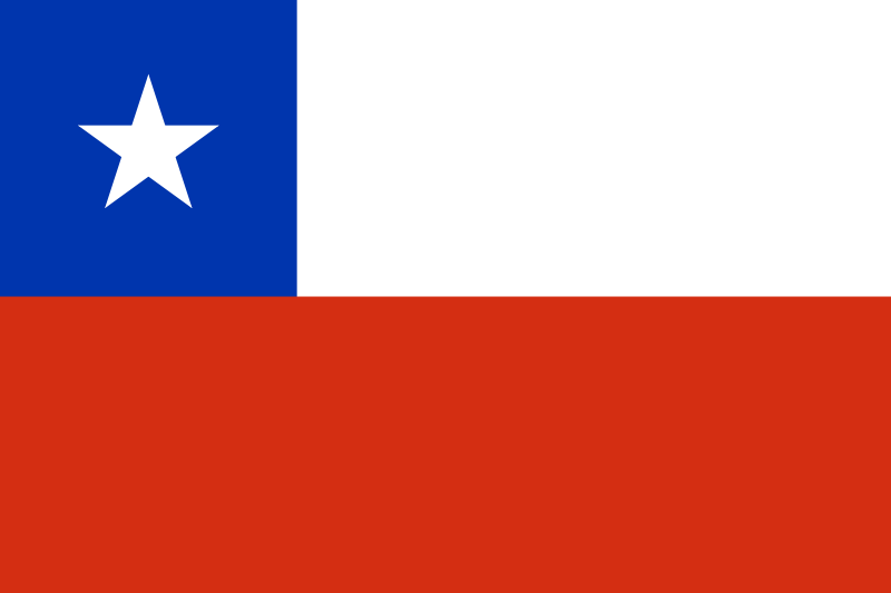 Flag Of Chile Chile Flag Chilean Flag Flags Of The World