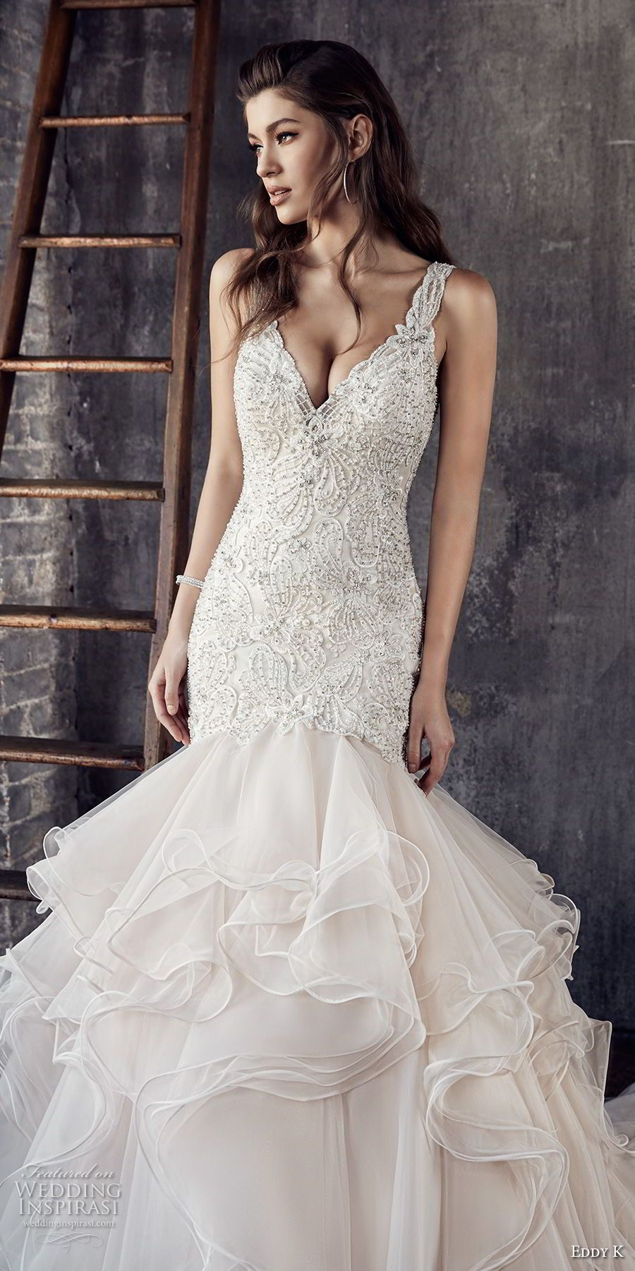 Eddy k couture wedding dresses mermaid wedding dresses