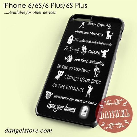 disney quote phone case iphone 7