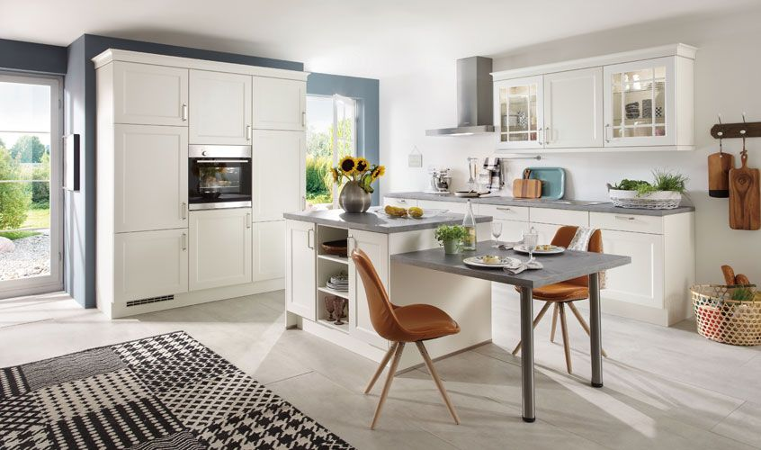 weiße Landhausküchen von MÖBEL KRAFT | Küche | Pinterest ...
