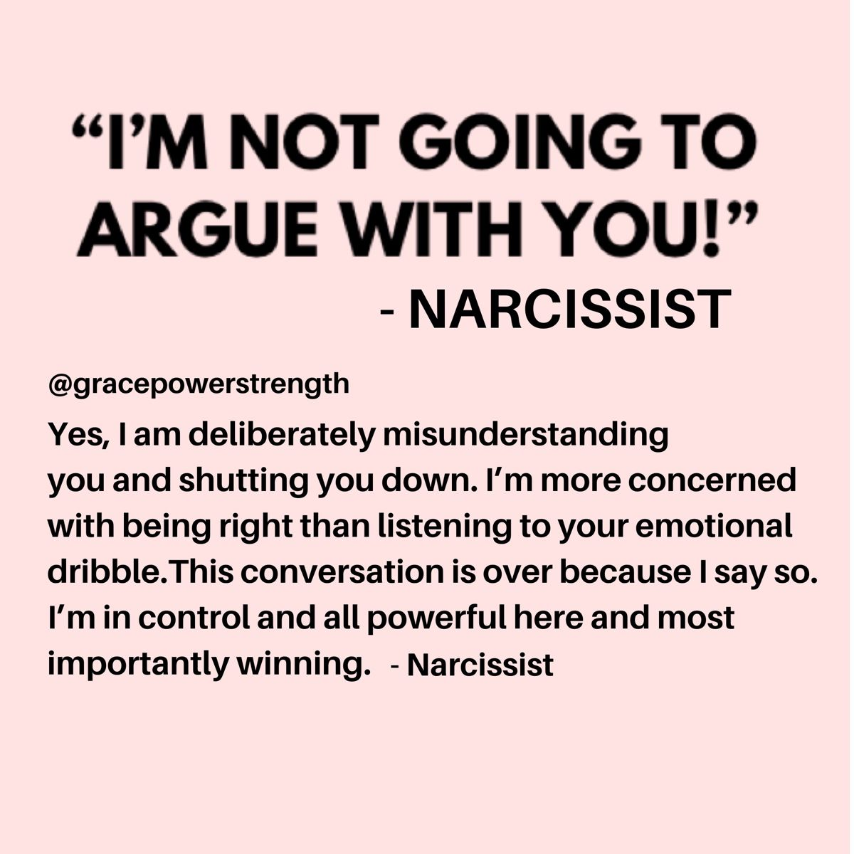 Narcissist and Control Narcissistic abuse/ control