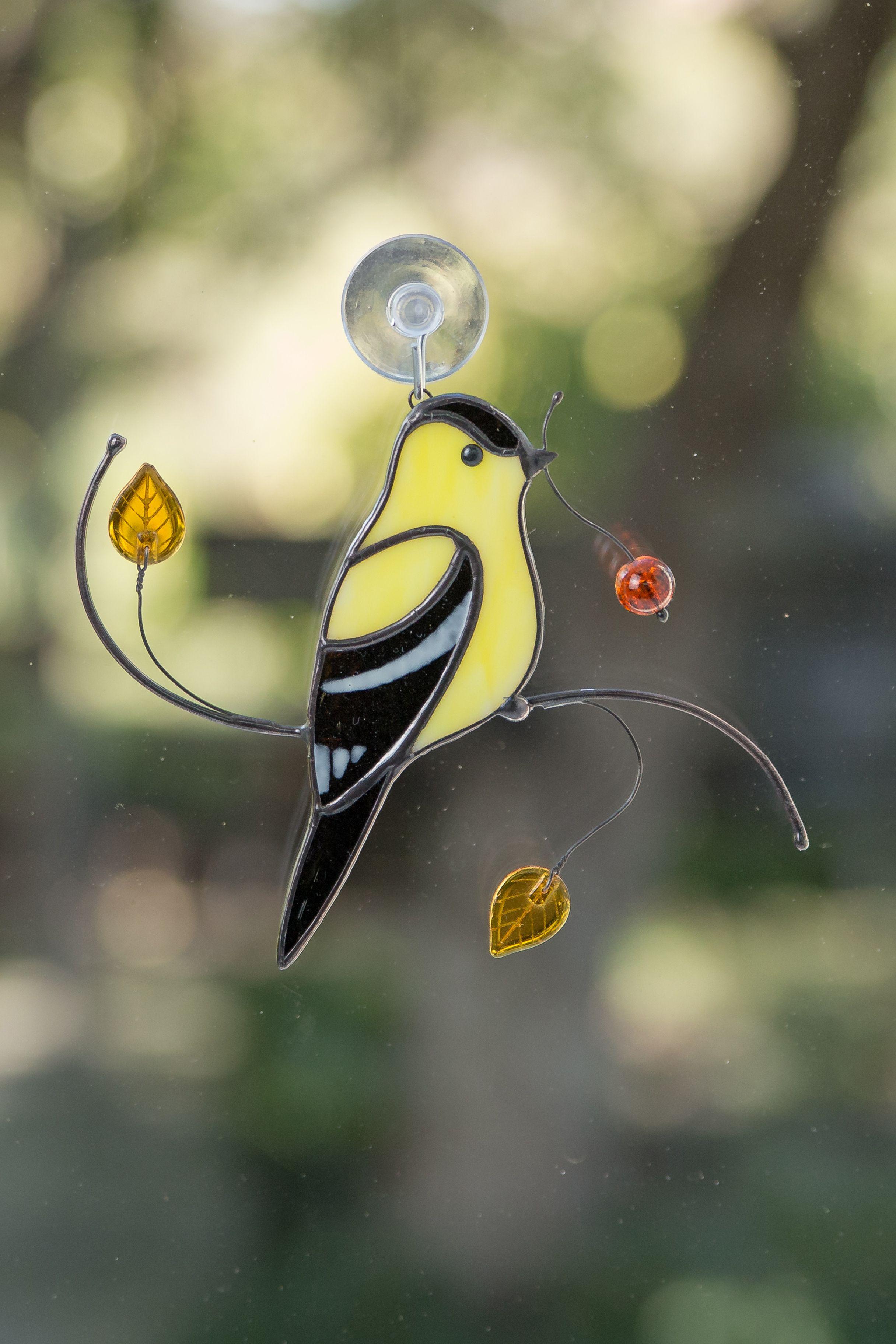 Goldfinch Bird Suncatcher