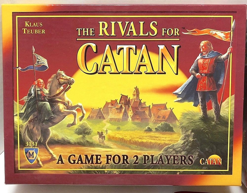 The Rivals For Catan Card Game for 2 Players 100 Complete