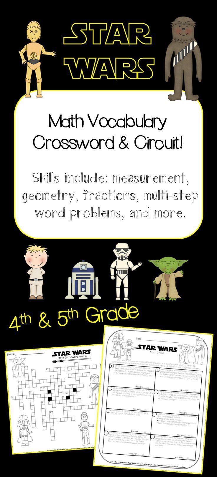 STAR WARS Math: May the 4th be with you