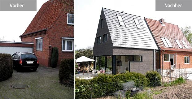Umbauen & Renovieren: Verdoppelung eines Siedlungshauses   Schöner Wohnen – renovieren