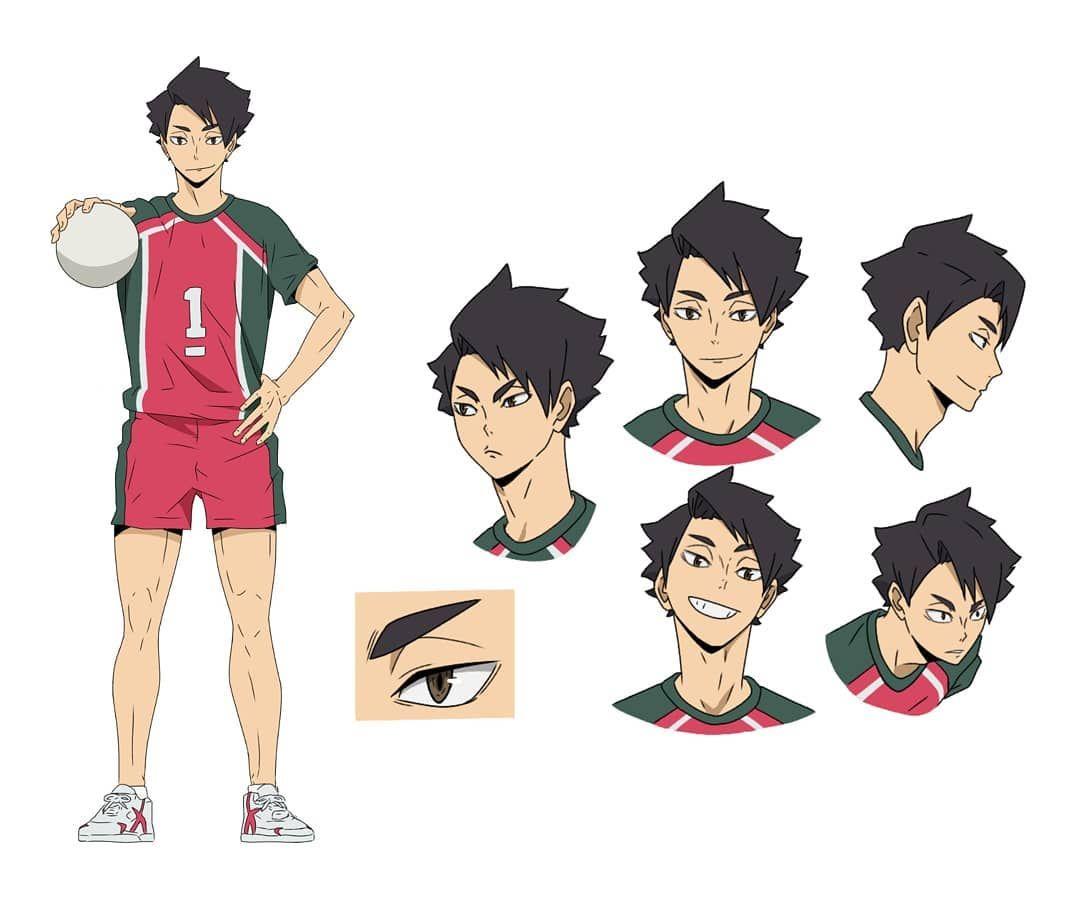Character Design 1 Nam Character Design Haikyuu Character