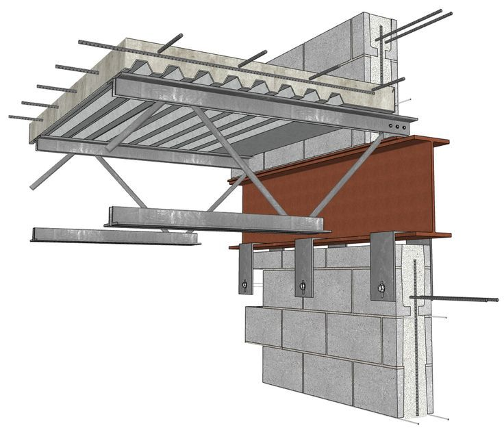 Image Result For Concrete Wall Warehouse Steel Beam Roof Construction Details Architecture Steel Building Homes Steel Architecture