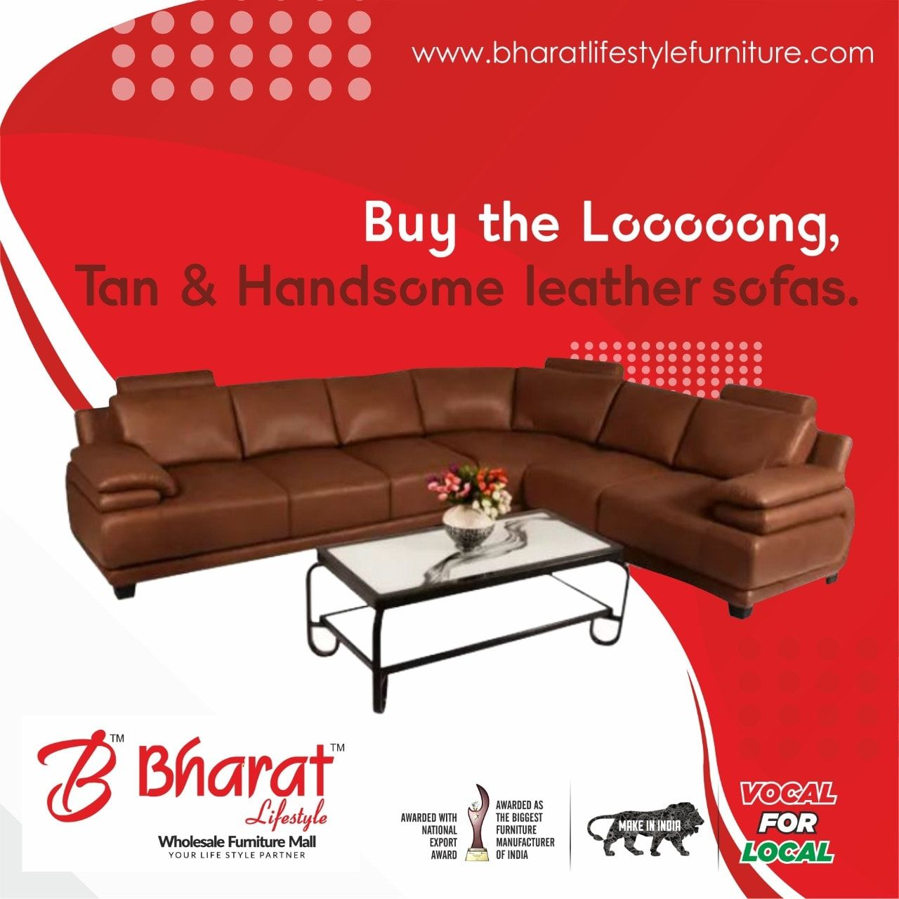 Buy Leather Sofa Sets Online Bharat Lifestyle Leather Sofa Set Sofa Set Online Brown Sofa Set