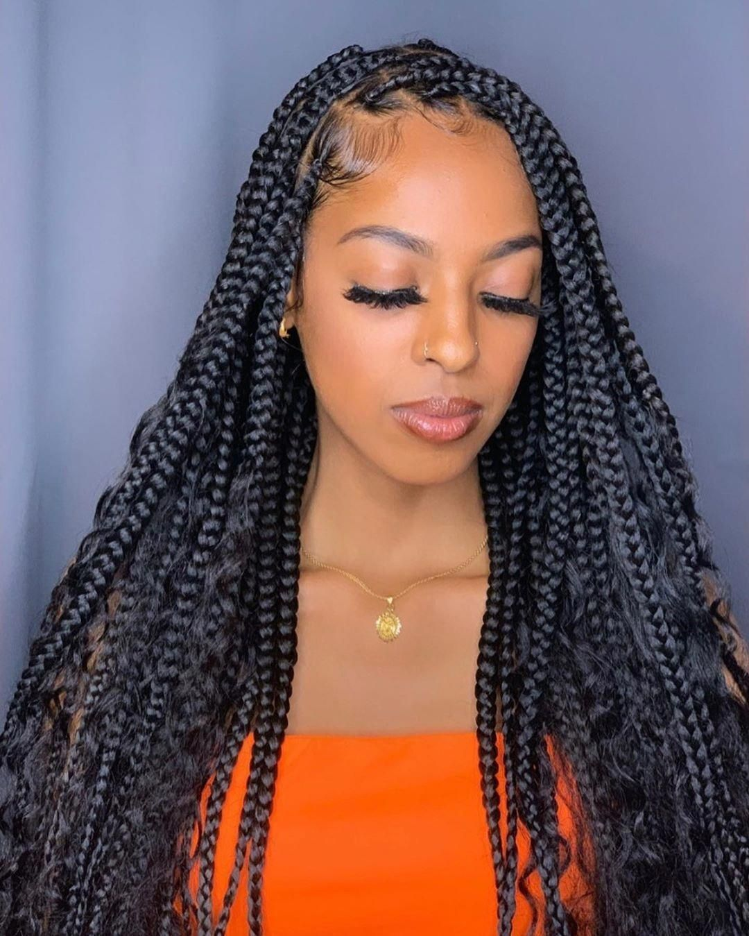 77 unbeatable long box braids to explore in 2020 with