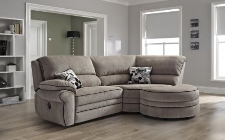 Corner Sofa And Recliner Home Furniture Fabric Sofas Bethany