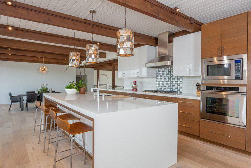 22 Midcentury Modern Kitchen Designs Showcasing Contrast Of Past