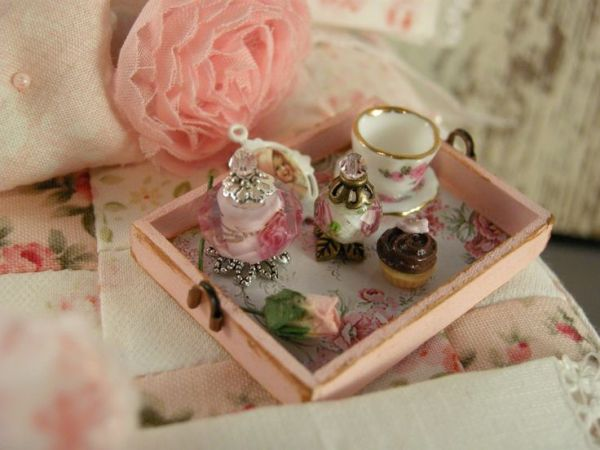 Decorating with handmade miniatures
