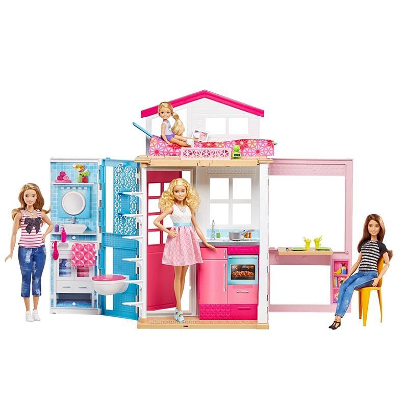 Barbie 2 Story House Dvv47 Barbie Casa Da Barbie Bonecas E