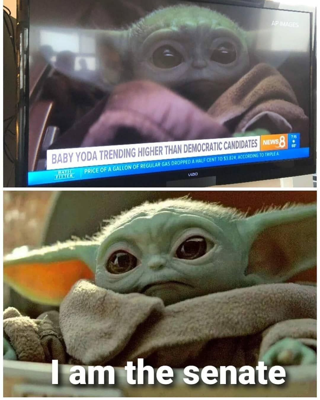 No Words Needed For More Follow Baby Yodamemes Babyyoda Yoda Starwars Memes Cute Starwarsmemes Funny Star Wars Memes Yoda Meme Star Wars Jokes