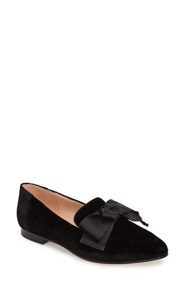 6368ae9fa210 Free shipping and returns on kate spade new york claudia loafer (Women) at  Nordstrom.com. A grosgrain bow and almond toe make this classic loafer a ...