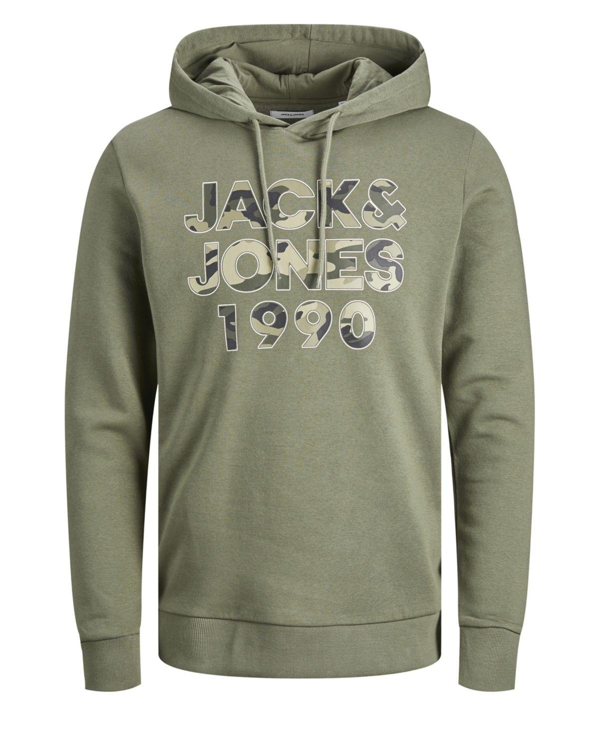 Jack Jones Men S Hoodie Sweatshirt Olive In 2021 Mens Sweatshirts Hoodie Hoodies Sweatshirts Hoodie [ 1466 x 1200 Pixel ]