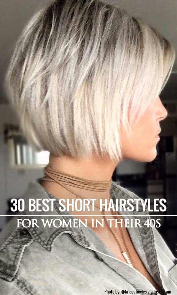 Korthårsfrisurer fint hår