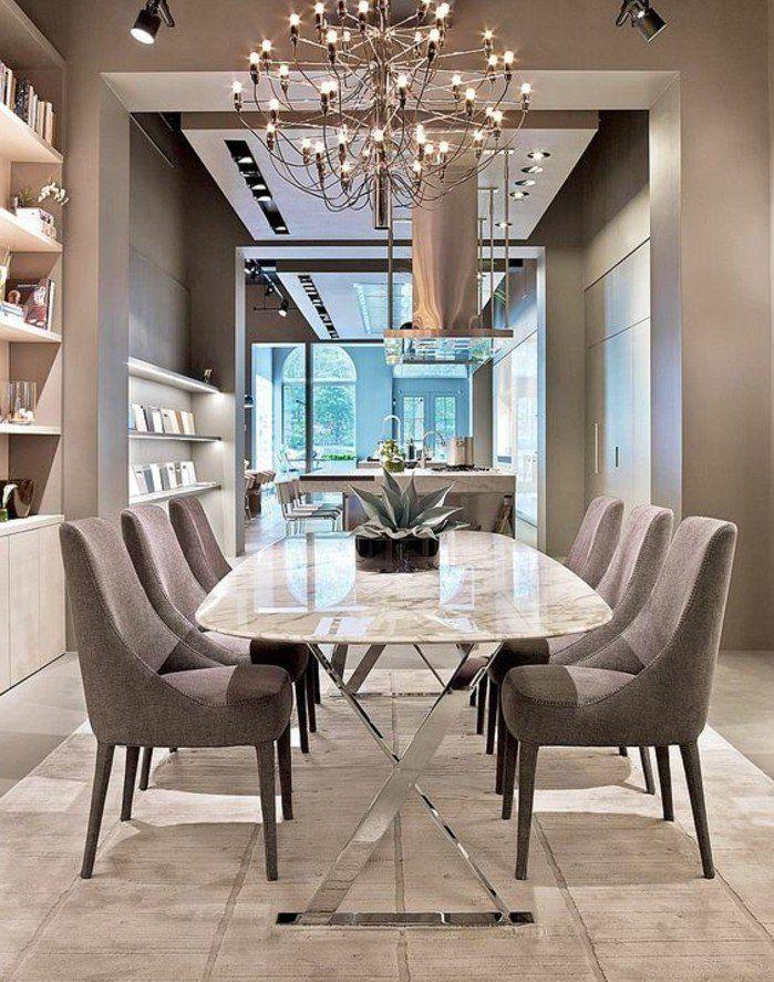 Quels meubles de salle à manger pour personnaliser son coin de repas - lustre pour salle a manger