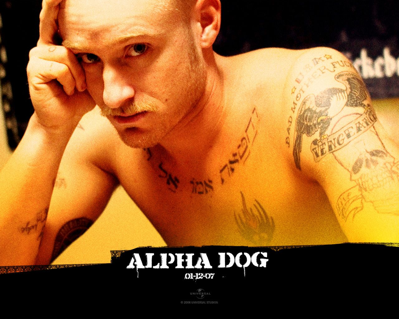 Watch streaming hd alpha dog starring emile hirsch for Justin timberlake tattoos removed