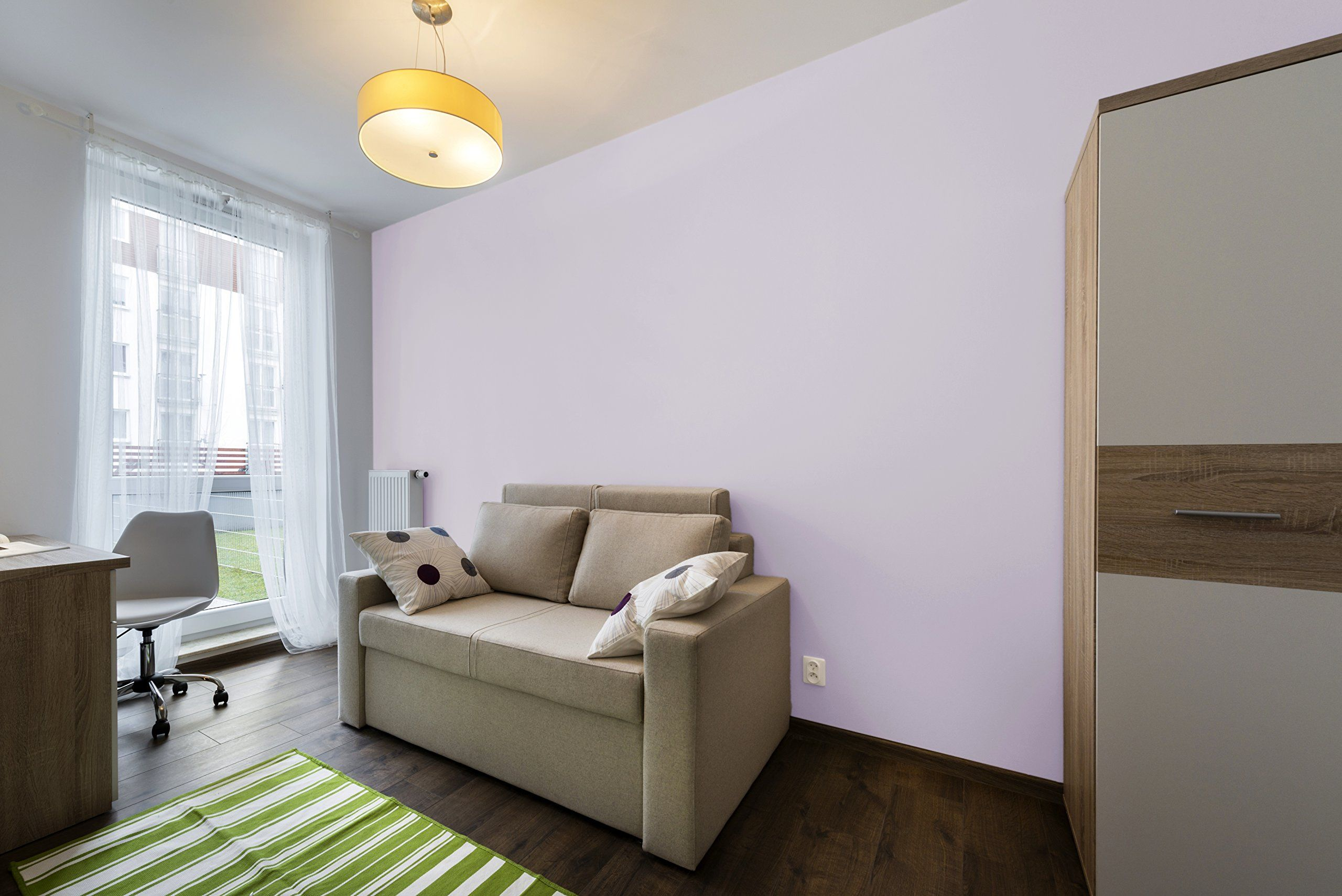 Tempaint Removable Peel And Stick Wallpaper Stardust Purple Amazon Com Willow Green Apartment Living Peel And Stick Wallpaper
