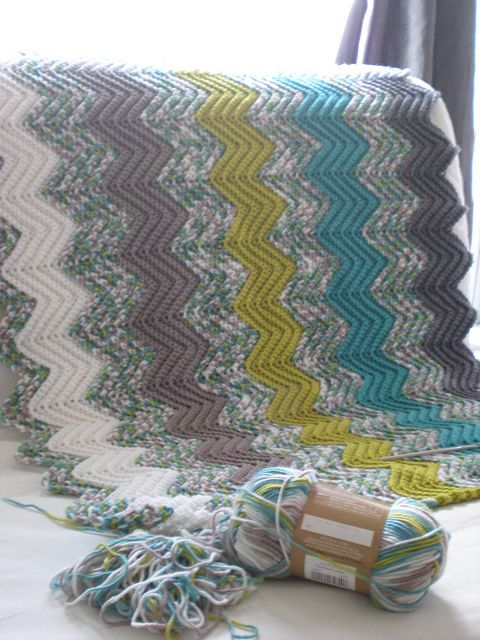 Beautiful Colour Scheme This Looks Like A Basic Double Crochet