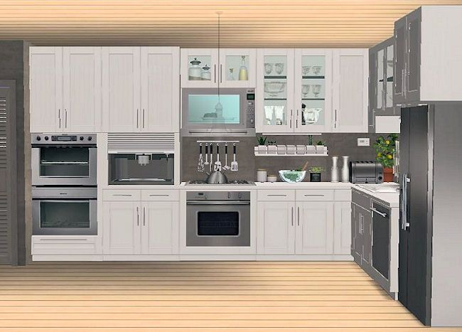 IKEA FAKTUM kitchen addons - slaved | Sims 2 stuff | Pinterest ...