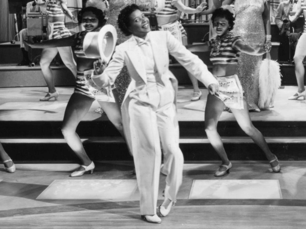 "Hooray for Jeni LeGon the Hollywood pioneer who ""danced"