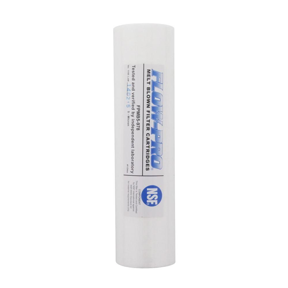 Watts Fpmb5 978 Flo Pro Replacement Filter Cartridge Watts Fpmb5 978 Drinking Water Whole House Water Filter Filters