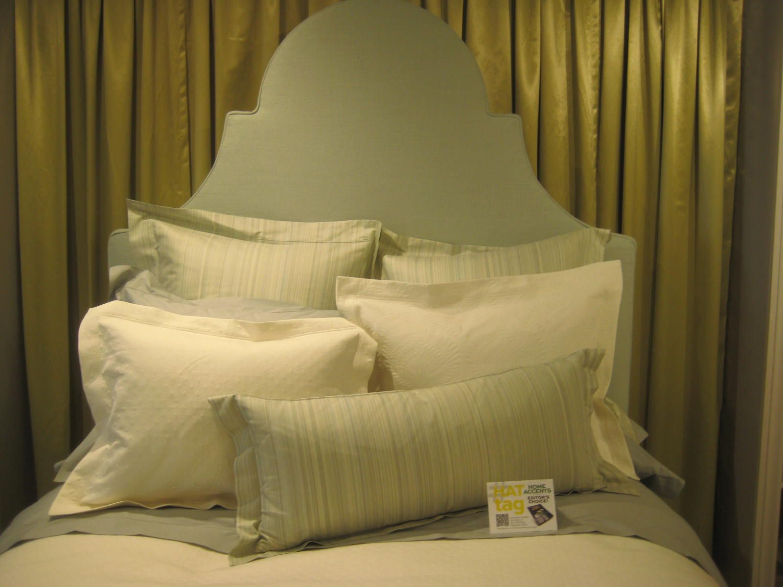 The Annie Selke Luxe Collection of European bedding from