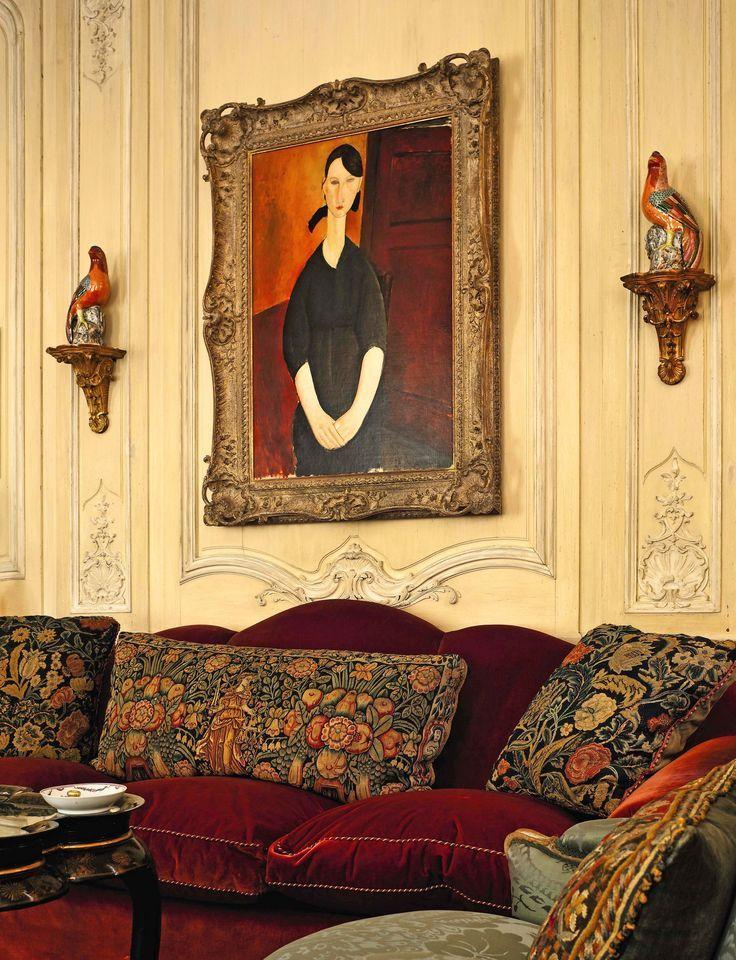 LIVING IN DESIGN: VIVIENDO CON ARTE: A. ALFRED TAUBMAN