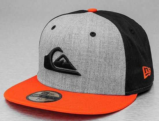 QUIKSILVER x NEW ERA「Four Stars」59Fifty Fitted Baseball Cap ... 5152fae1acf