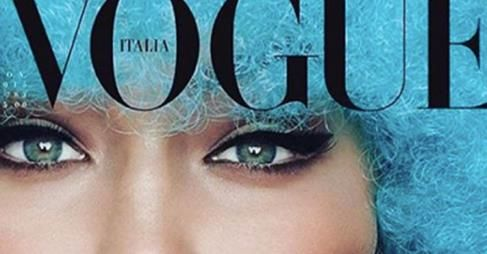 Gigi Hadid: On That Italian Vogue Cover with Steven Meisel-Daily Front Row