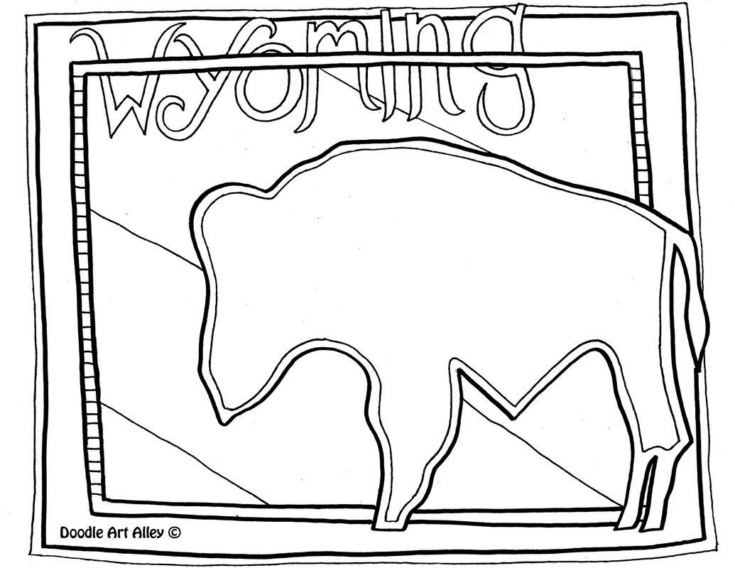 United States Coloring Pages Classroom Doodles Coloring Pages