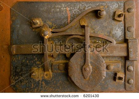 Explore Antique Keys, Antique Doors, and more! - Ancient-door-lock-mechanism STEAMPUNK'D Pinterest