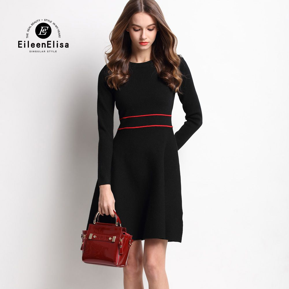 42fb6eb0b56 Cheap dress fine, Buy Quality dress and jacket sets directly from China  dress long sleeve tunic dress Suppliers: 2017 Brand Dress High Quality Knit  Dresses ...