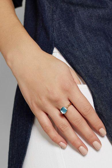 POMELLATO Nudo Petit 18-karat Rose Gold Topaz Ring IpEwN