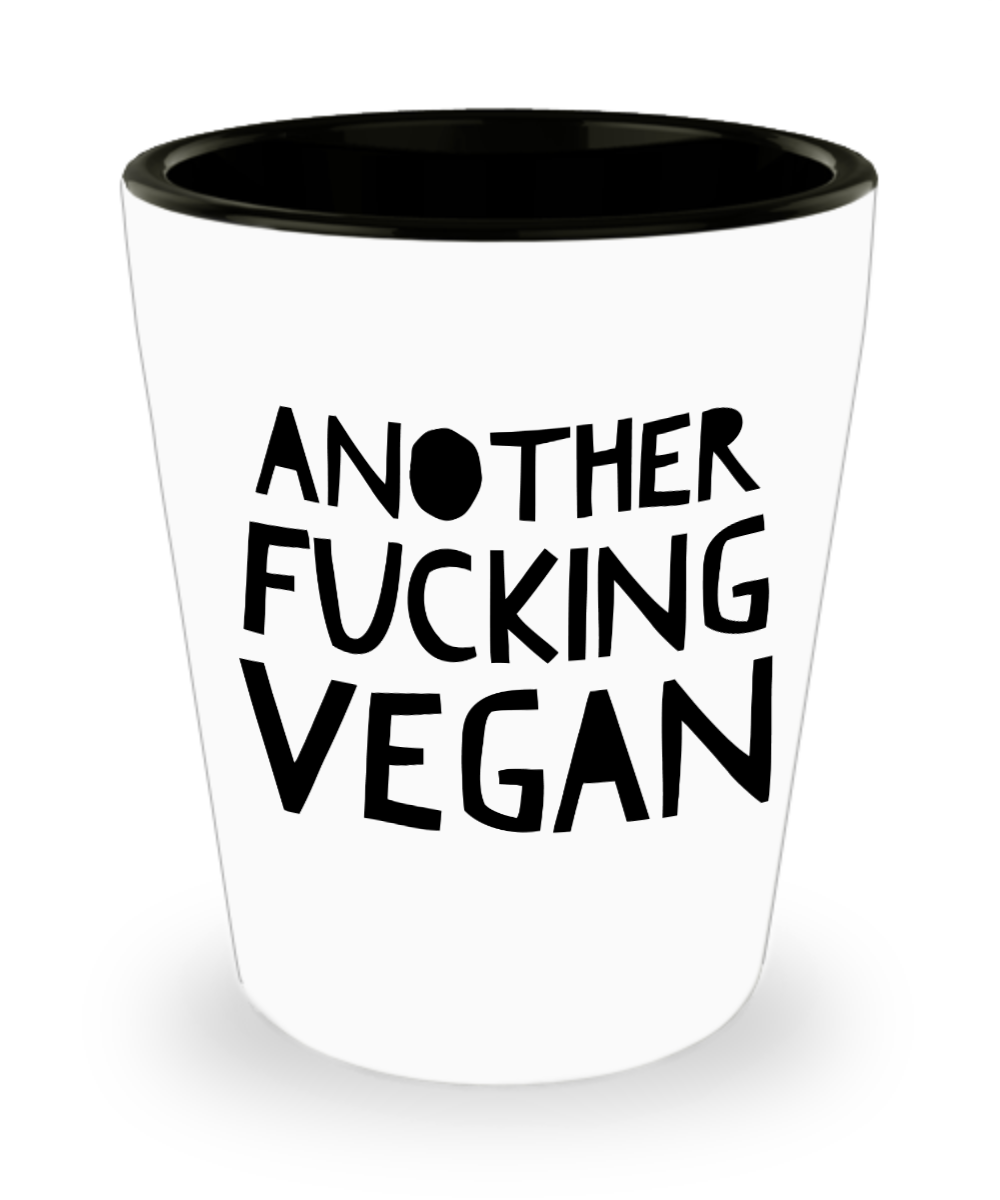 Funny Shoot Glass For Vegan 15 Oz