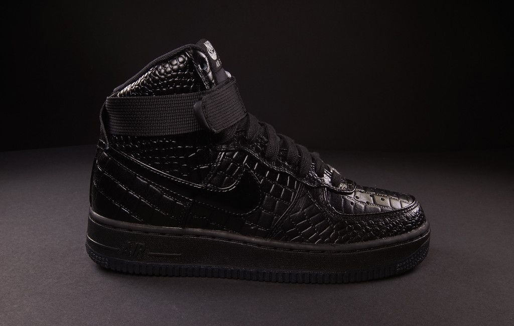 nike air force 1 crocodile noir