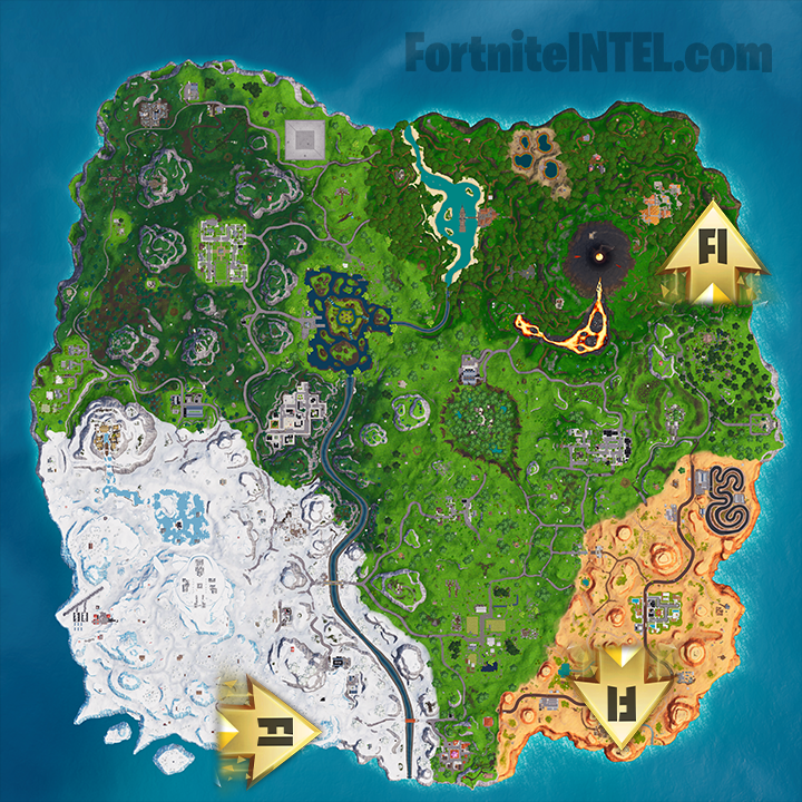 How To Complete The Visit A Giant Face Challenge Fortnite Season 8 Week 1 The First Batch Of Fortnite Season 8 Challenges Ha Fortnite Location Map Challenges