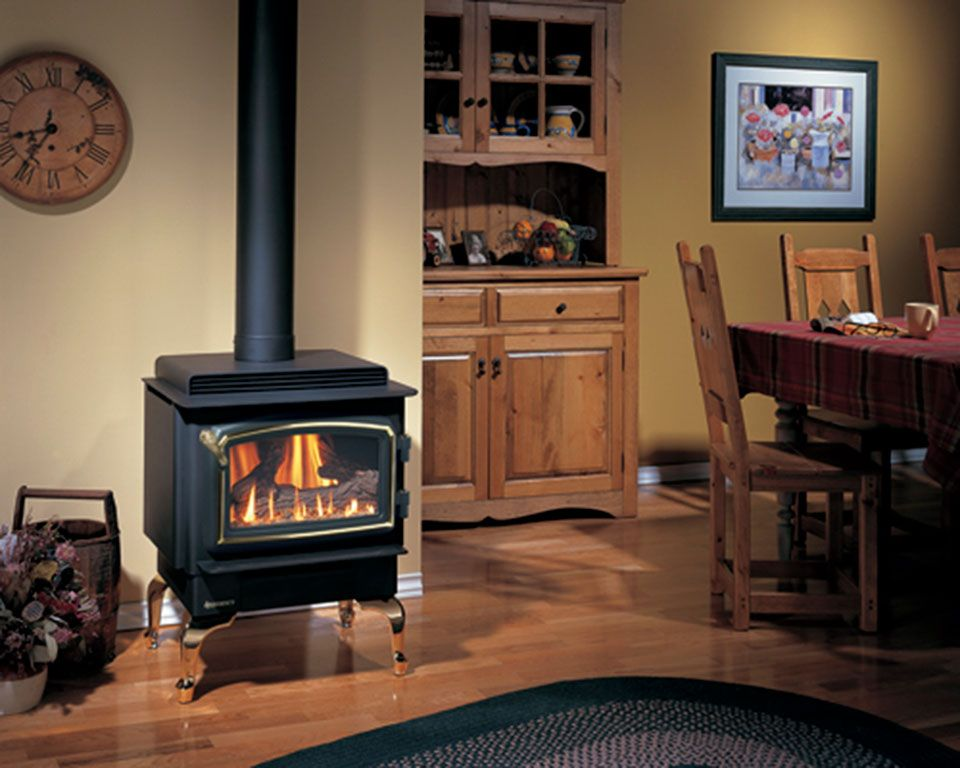Regency C34 Free Standing Gas Stove Can Come With A Black