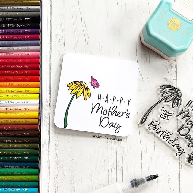 diy this adorable card for mother's day  mothers day