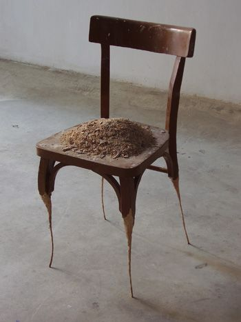 I Feel Like This Some Days Too You Re Not Alone Little Chair Art Chair Contemporary Sculpture Everyday Objects