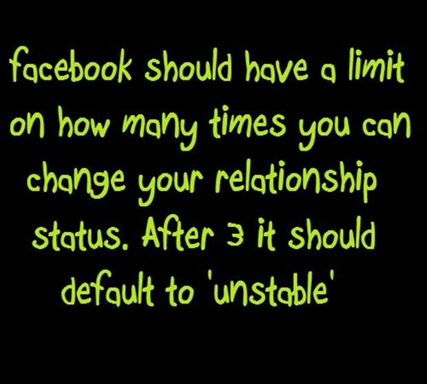 Funny Quotes About Relationships: Facebook Relationship Status, Funny Quotes