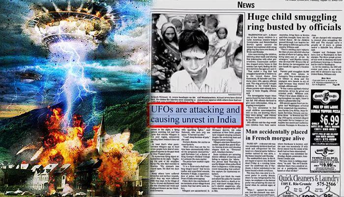 El terrible caso del ataque alienigena que sucedió en la India donde mas de 20 personas desaparecieron y 7 personas murieron.        Tod...