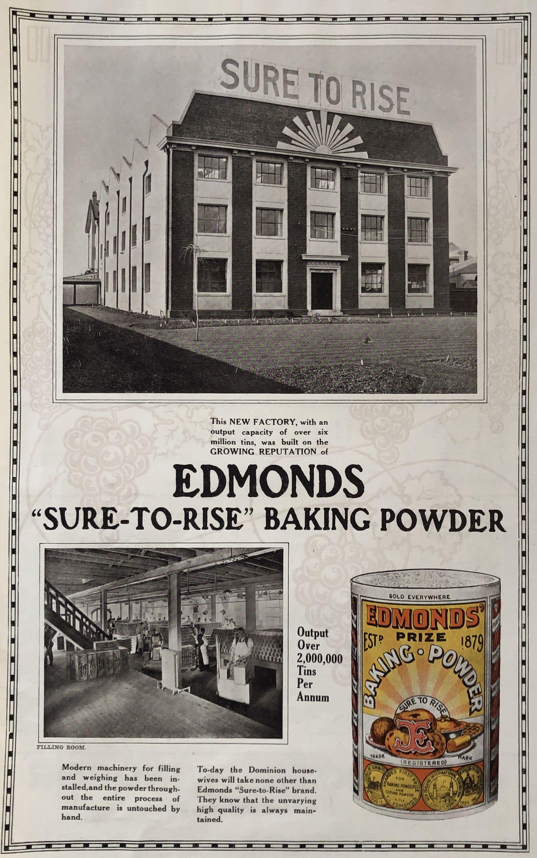 Advertising - Ephemera For the Edmonds Fans - 1923 Poster ...