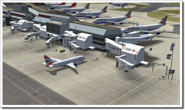 FSX Download Mega Airport London Heathrow Free | Fsx | London