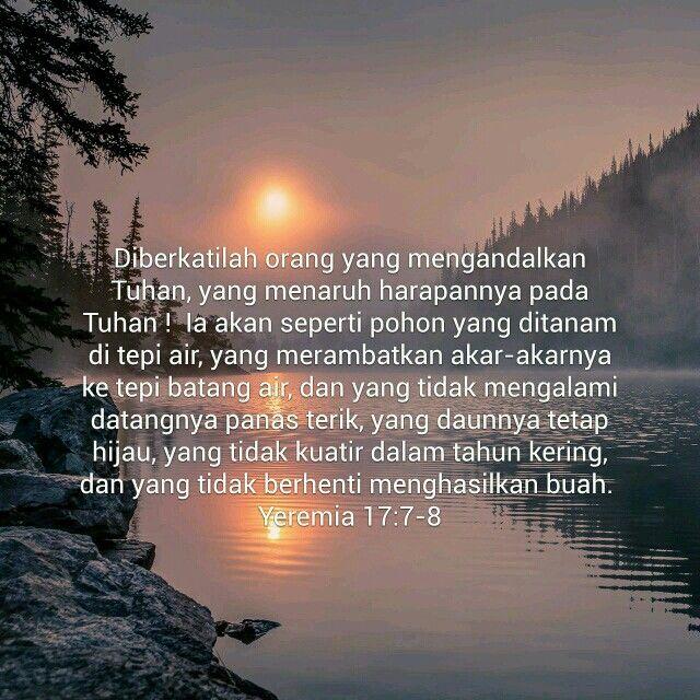 Yeremia 17 7 Mazmur Rohani Berkat